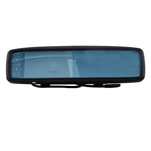 Elife 4.3 Inch Universal Clip-On Lcd Color Tft Rearview Mirror Monitor Screen For Car Backup Camera With Blutooth Function 480(H)×Rgb×272(V)