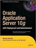 img - for Oracle Application Server 10g 1st (first) edition Text Only book / textbook / text book