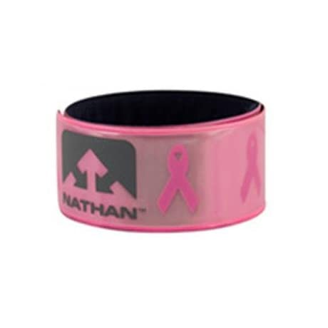 Nathan Hydration 2013 Reflex Relfective Arm & Anklebands (2 Pack) - Pink Ribbon - K1013NK