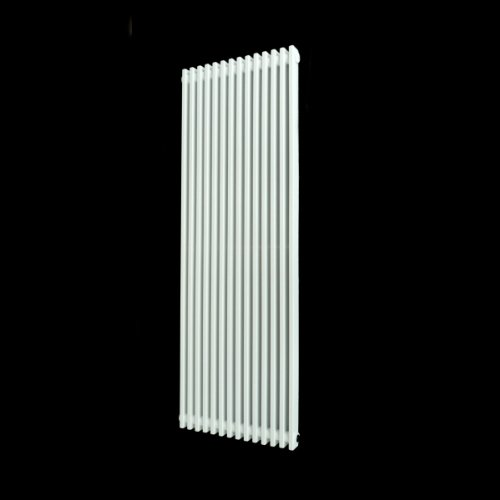 Serrenti White Flat Vertical Radiator 1200 x 420 mm
