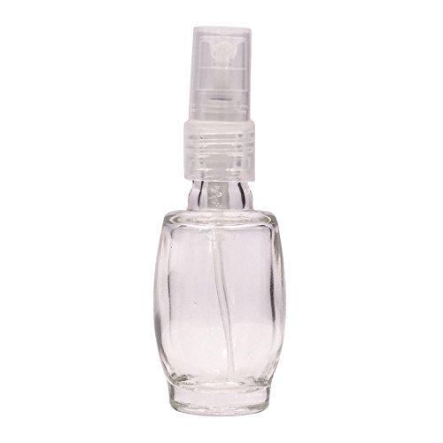 10 ml Rechargeable Essential Oil Bottles atomiseur spray gros bouteilles de parfum en verre transparent de parfum vide 6 Pcs Vaporisateur