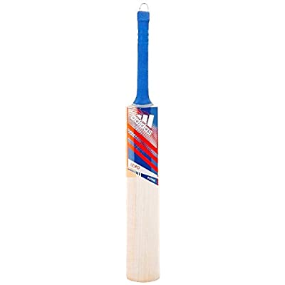 adidas Libro Elite Kashmir-Willow Cricket Bat, Short Handle (Red)