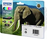 Epson C13T24284010 - 24 Multipack - 6-pack - black, yellow, cyan, magenta, light magenta, light cyan - original - blister - ink cartridge - for Expression Photo XP-55, XP-750, XP-850, XP-860, XP-950, Expression Premium XP-750, XP-850