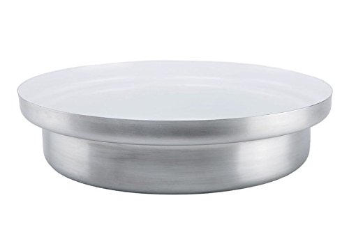 KnIndustrie Whitepot - Low Casserole Ø13.4 Steel - White