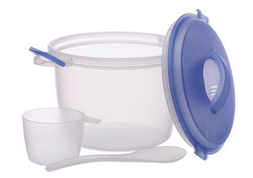Microwaveable 6-Cup Rice Cooker Set
