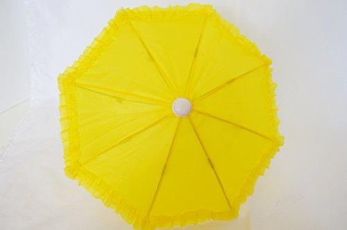 YELLOW UMBRELLA FOR AMERICAN GIRL DOLLS