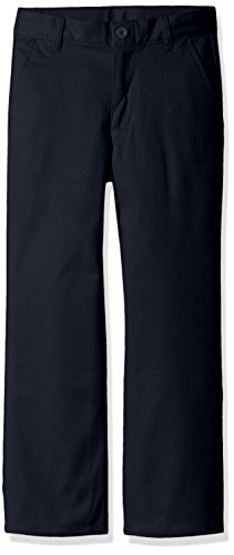 Dockers Boys' Big Boys' Uniform Twill Pants, Navy, 08