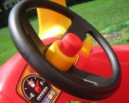 Little Tikes Cozy Coupe Car Replacement Steering Wheel 3 Piece Set
