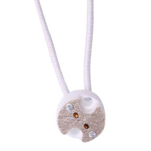 Gu5.3 Mr16 Mr11 Led Halogen Light Lamp Bulb Accessories Wire Connector Plug Socket