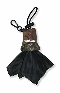 Carson Stuff-it Microfiber Lens Cloth, Mossy Oak