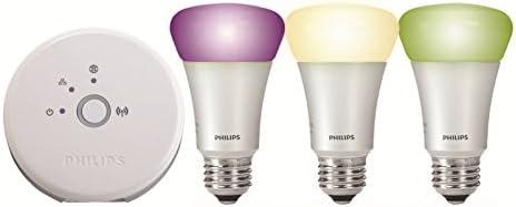 Philips Hue Starter Kit Lampadina LED, E27
