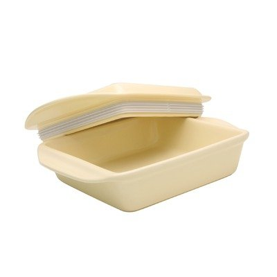 Chantal 8-By-8-Inch Make And Take Baker, Square, Pure