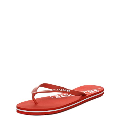 Lacoste Donna Rosso Ancelle RES Infradito-UK 3