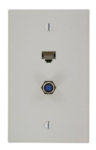 Leviton 5EA20-S2W QuickPlate, White