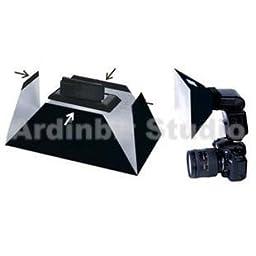 Ardinbir Flash Softbox Diffuser for PANASONIC DMW-FL360; KODAK P20; SIGMA EF-530DG, 140DG; SUNPAK PZ40K II, PZ42X Speedlight Flash; Small Size(20.2×12.2×9cm)