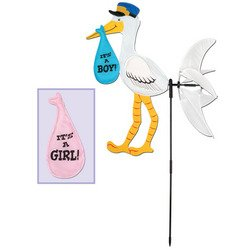Stork Wind-Wheel Party Accessory (1 count) (1/Pkg)