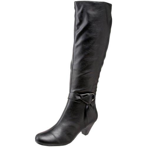 aerosoles-infamous-femmes-noir-chaussures-bottes-neuf-eu-37
