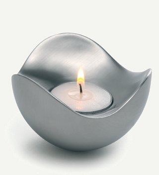 candlestick holders georg jensen bloom candleholder steel. Black Bedroom Furniture Sets. Home Design Ideas
