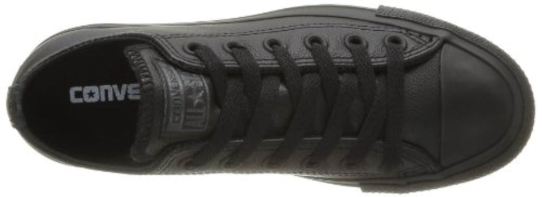 CONVERSE Unisex Chuck Taylor All Star Ox Fashion Sneaker Leather Shoe - Black Mono - Mens - 6.5