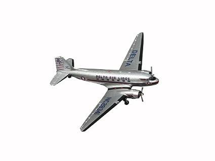 Gemini Jets Delta Air Lines Douglas DC-3 1/400 Scale Diecast Model GJDAL978