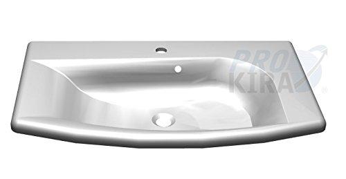 pelipal Solitaire 7005minerale di marmo lavabo/RD DI mmwtr 65–845W/bianco/84,5x 3x 51,6cm
