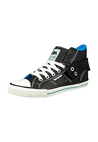 British Knights BK Sneaker ROCO B35-3731 01 Black Royal Blue Schwarz, Groesse:42 EU / 8 UK / 9 US