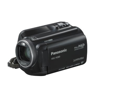 Panasonic HDC-HS80K HD HDD Camcorder (Black)