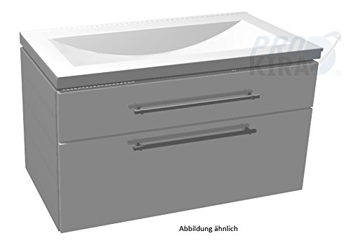 In Cool WUA389A1M) with Pumice Dino Set: Cabinet Vanity Unit (WSS509058)/90cm