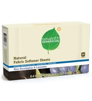 Natural Fabric Softener Sheets