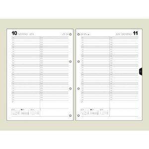 Brunnen Tageskalendarium für Ringbuch-Kalender Modell 787 2014