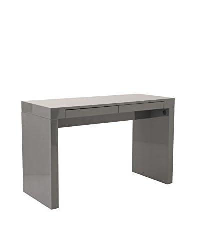 Euro Style Donald Desk, Grey