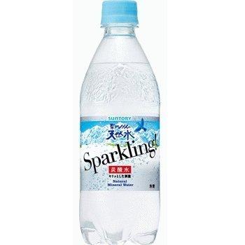 サントリー 南アルプスの天然水 スパークリング ペット500ml1箱24本