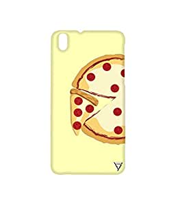 Vogueshell Pizza Slice Printed Symmetry PRO Series Hard Back Case for HTC Desire 816G