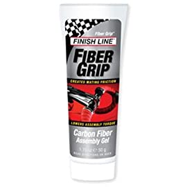 Finish Line Fiber Grip Carbon Fiber Bicycle Assembly Gel - 1.75oz/50g Tube - F01750101