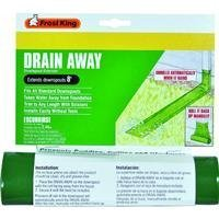 Thermwell Products DE200 Flexible Manual Downspout Extender 8' - Green