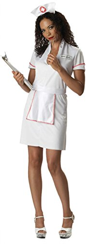 California Costumes Womens Nurse Getwell Medical Theme Party Halloween Dress