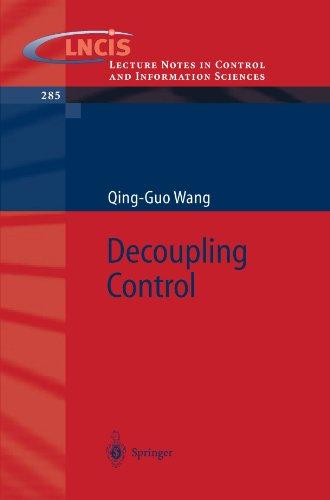 Decoupling Control [Wang, Qing-Guo] (Tapa Blanda)