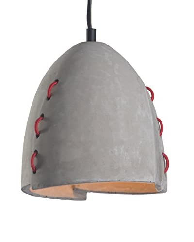 Zuo Confidence 1-Light Ceiling Lamp, Concrete Gray