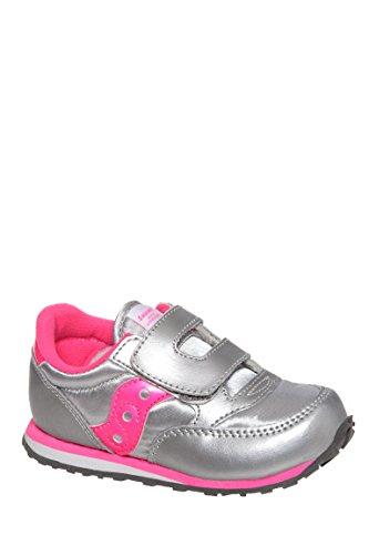 Girls Baby Jazz Hook And Loop Low Top Sneaker