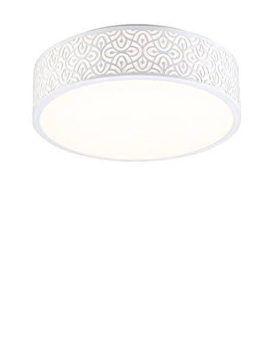Light&Design Plafón Samira Blanco Ø 39 cm