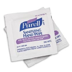 Purell Sanitizing Hand Wipes front-691677