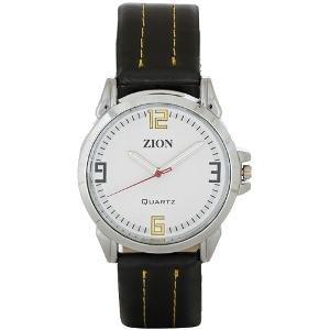 Zion Men's Combo of Watch, Belt & Wallet