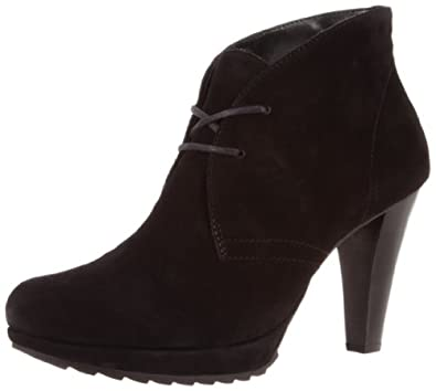 Paul Green Women's New York Boot,Black Suede,8 M US