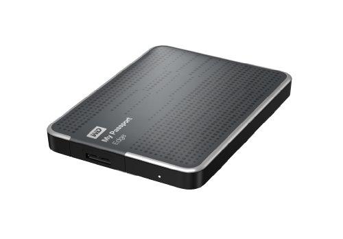 WD My Passport Edge 500GB Portable USB 3.0 External Hard Drive Storage (WDBK6Z5000ATT-NESN) (Wd Edge compare prices)