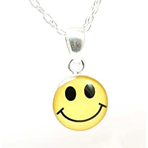 Amazon.com: Toc Sterling Silver Adorable Smiley Emoticon