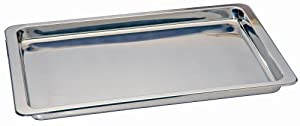 Kitchen Supply Stainless Steel Jelly Roll Pan 10.5-inch by 15.5-inch