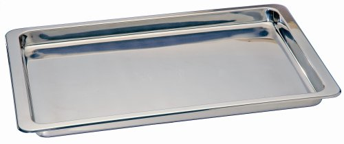 Kitchen Supply Stainless Steel Jelly Roll Pan, 10.5-Inch by 15.5-Inch
