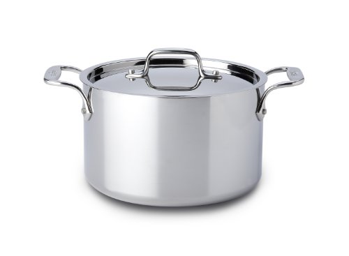 All Clad Stainless Steel 4-Quart Casserole with Lid