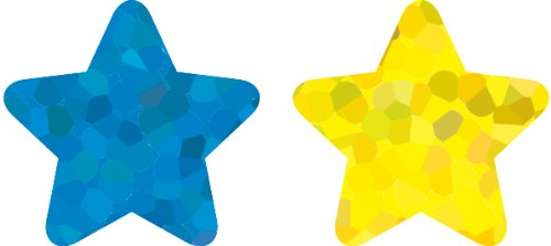 Carson Dellosa Stars, Multicolor Foil Shape Stickers (5274)