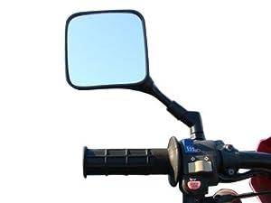TMS® Dual Sport Motorcycle Mirrors Honda XL XR 200 250 400 600 650 XR600R XR650L Pair Suzuki DR 200 250 DR350 350 DRZ 400 650 DR650 Kawasaki KL KLR KLX 250 400 600 650 KLR650